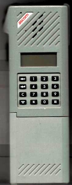 Ascom SE160T Autonet-käsipuhelin