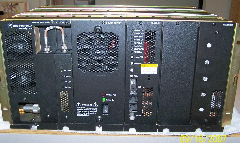 Motorola Quantar VHF R1