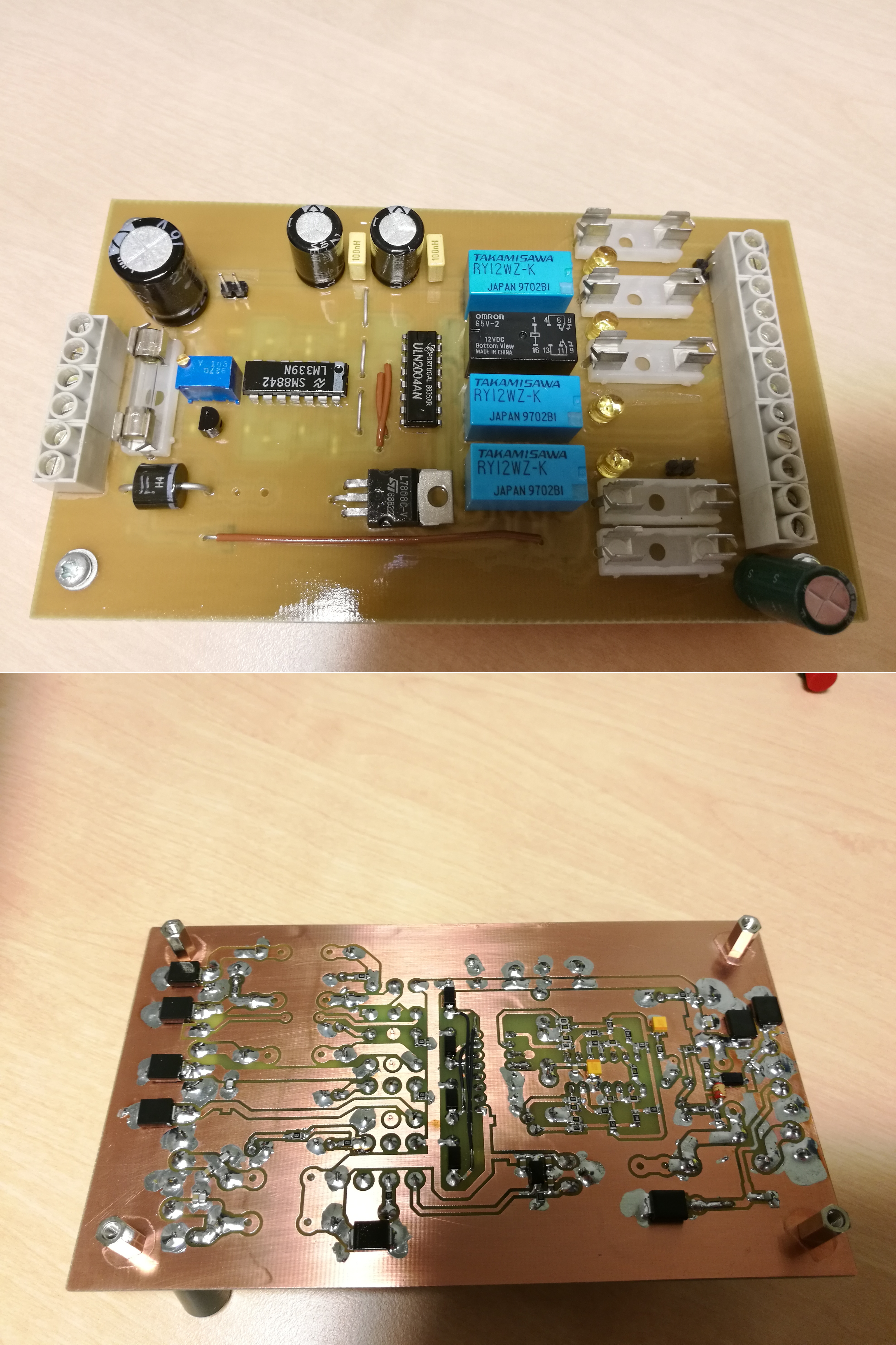3 Cm Page Transient Rc Circuit Containing The Necessary Fuses Filter Capacitors And Tvs Diodes For Protection Core Of This Board Is A Lm339